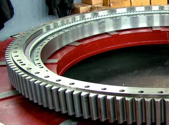 Famous Imported Brand Single Row Excavator Walking Bearing Slewing Bearing Angular Contact Ball Bearing BA290-3A
